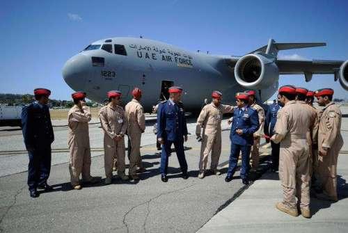 متحدہ عرب امارات کا جنگی طیارہ ..