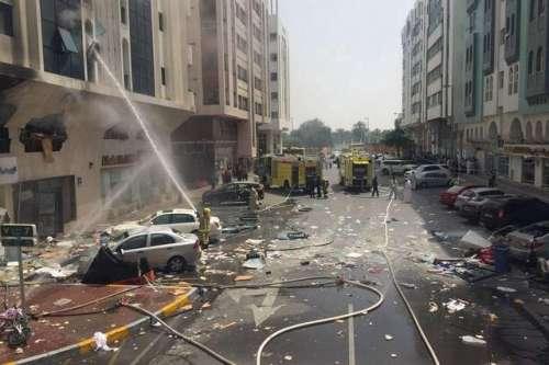 ابوظہبی میں سلنڈر دھماکہ، 15 ..