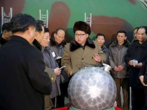 شمالی کوریا نے اپنے ہائیڈروجن ..
