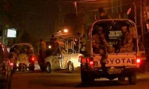 کراچی کے علاقے منگھوپیر میں ..