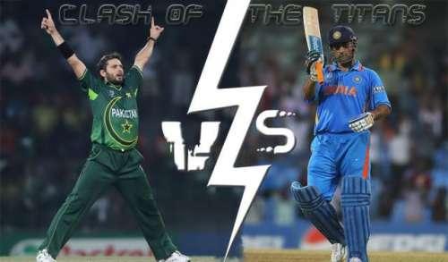ورلڈ ٹی ٹونٹی ، پاک بھارت مقابلے ..