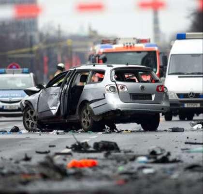 جرمنی کے شہر برلن میںکار بم ..