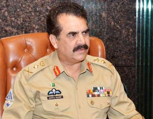 آرمی چیف جنرل راحیل شریف نے 13دہشت ..