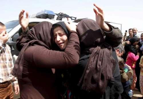 داعش کا خواتین کو زبردستی مانع ..