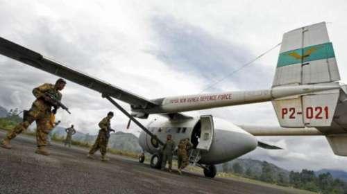 ایکواڈور : فوجی طیارہ ایمزون ..