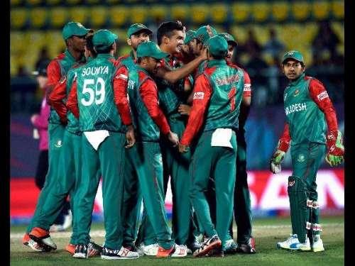 بنگلہ دیشی ٹیم آج ایڈن گارڈنز ..