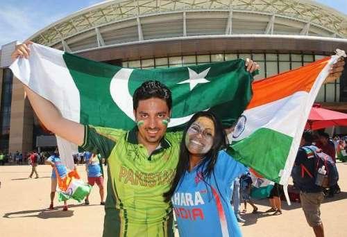 پاکستانی ، بھارتی کرکٹ شائقین ..