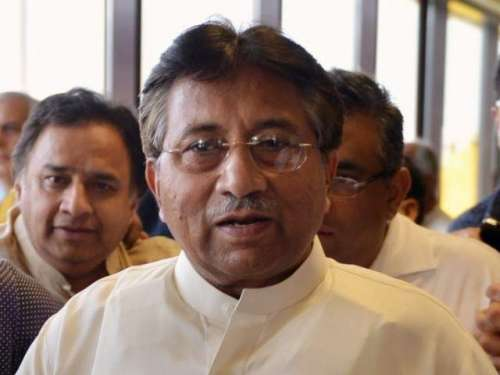 کراچی : سابق صدر پرویز مشرف کی ..