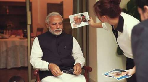 بھارتی وزیر اعظم کا مجسمہ جلد ..