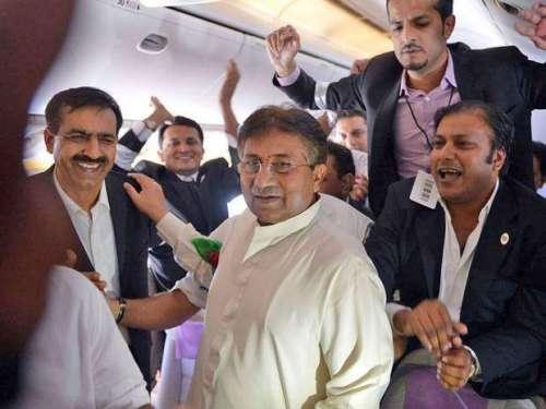 پرویز مشرف نے دبئی میں پارٹی ..