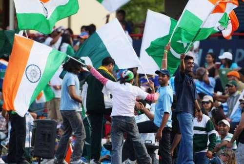 پاک بھارت میچ ' پاکستانی شائقین ..