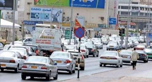 عمان : ٹریفک قوانین کی خلاف ورزی ..