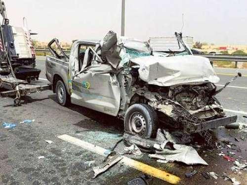 دبئی: ٹریفک پولیس کا حادثات کی ..
