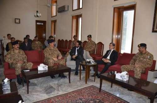 آرمی چیف کا بلوچستان ہائی کورٹ ..