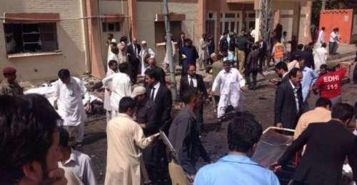 کوئٹہ:سول ہسپتال میں خود کش دھماکہ ..