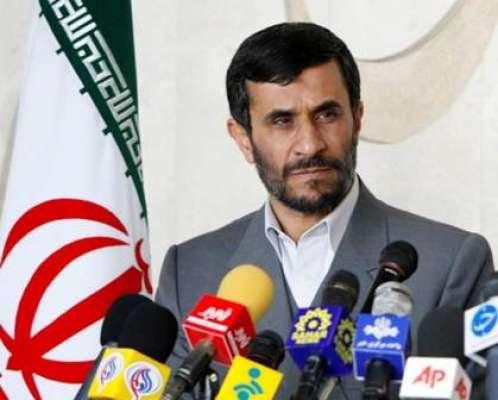 ایران کے سابق صدر محمود احمدی ..