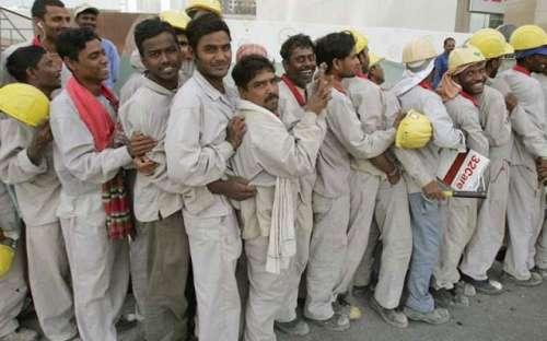 شاہ سلمان کی غیر ملکی مزدوروں ..