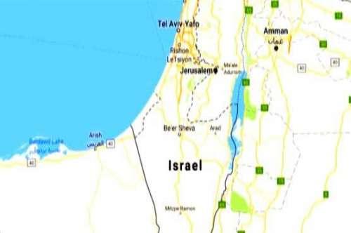 گوگل نے دنیا کے نقشے سے فلسطین ..