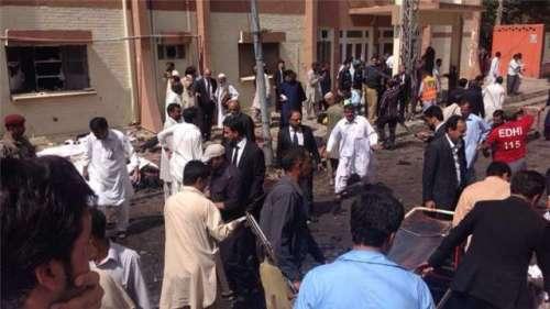 کوئٹہ سول ہسپتال بم دھماکے کا ..
