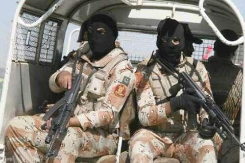 پاکستان رینجرز سندھ کی ناظم ..