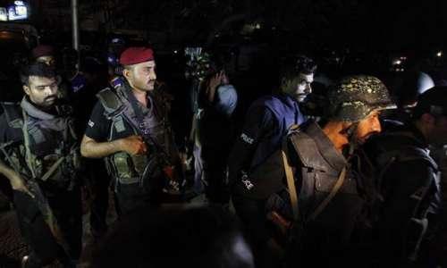 اسلام آباد میں سیکیورٹی اداروں ..