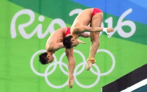 چین کے غوطہ خور نے ریو اولمپکس ..