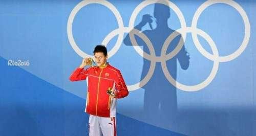 اولمپکس گیمز ،چین کے سن یانگ ..
