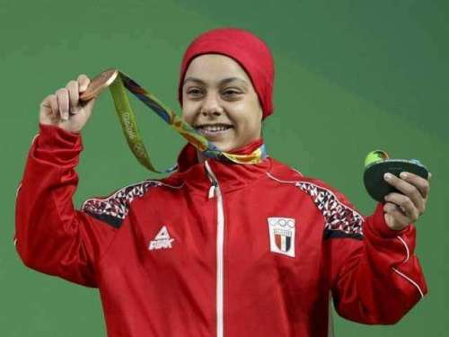 سارہ احمد اولمپکس تمغہ حاصل ..