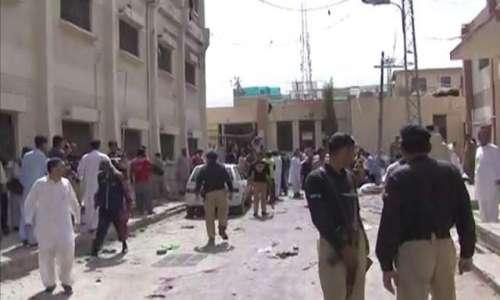 کوئٹہ دھماکے کا ایک اور زخمی ..