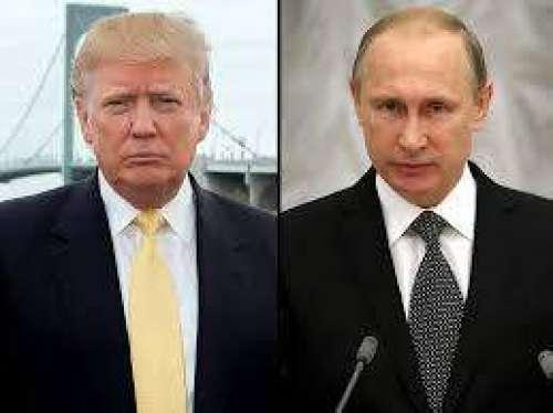 ڈونلڈ ٹرمپ کی روس کے صدر ولادی ..