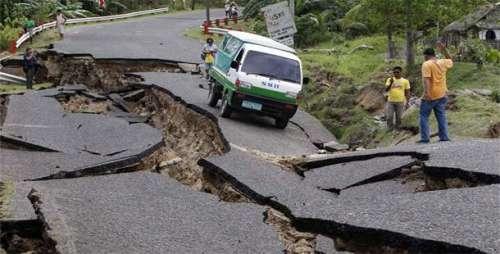ایکو ا ڈور کے زلزلہ زدہ شہر میں ..
