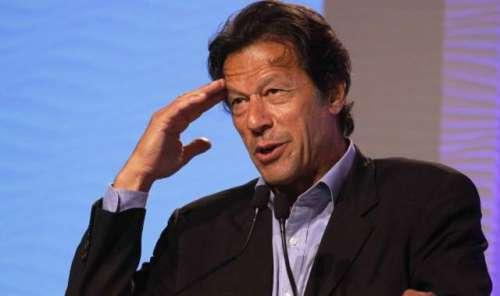 عمران خان کاترک صدر  کی جانب ..