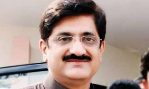 وزیراعلیٰ سندھ سید مراد علی ..