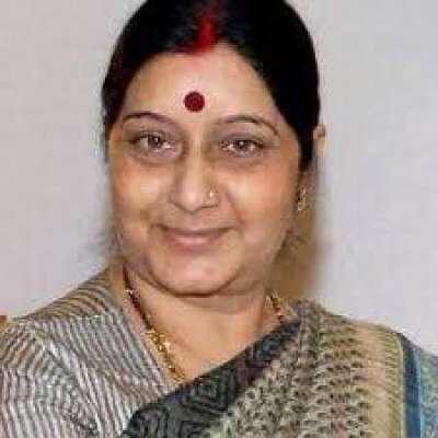 بھارتی وزیرخارجہ سشما سوراج ..