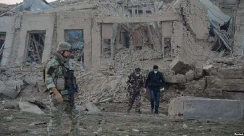 کابل میں خودکش حملے میں دوسیکیورٹی ..