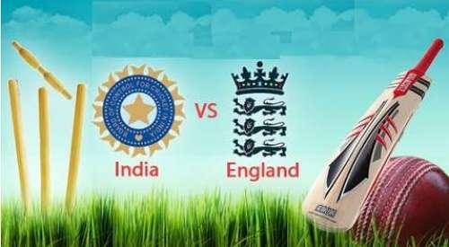 بھارت اور انگلینڈ کی درمیان ..
