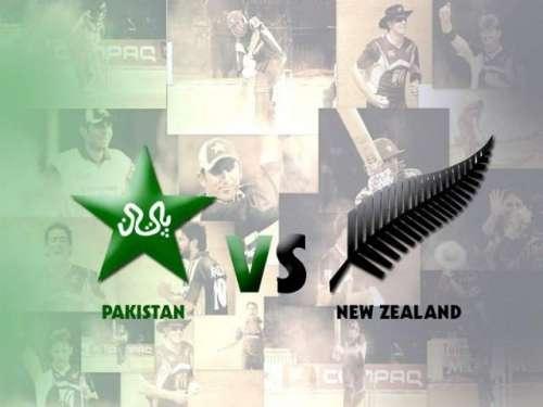 پاکستان، نیوزی لینڈ کے درمیان ..