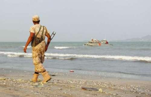 اتحادی فوج نے یمن کے ساحل پر ..