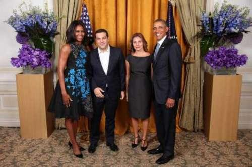 براک اوباما کی یونان کے وزیر ..