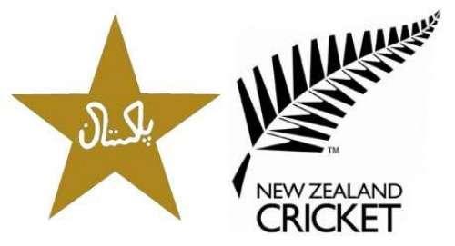 پاکستان اور نیوزی لینڈکی ٹیموں ..
