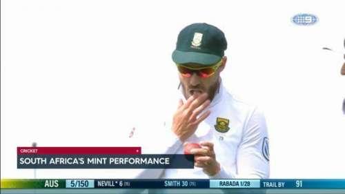 جنوبی افریقی ٹیسٹ کپتان فاف ..