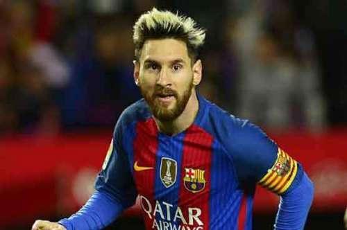 سپر سٹار فٹبالر لیونل میسی دہائی ..