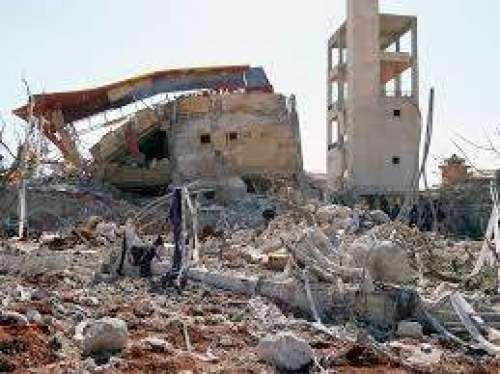 شام ،ْ بچوں کے ہسپتال پر فضائی ..
