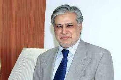 وزیر خزانہ سینیٹر محمد اسحاق ..