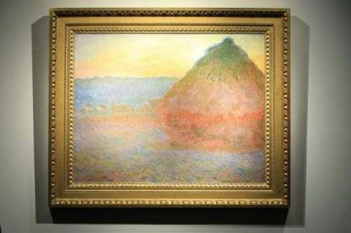 فرانسیسی مصورکلاڈ مونٹ کی پینٹنگ ..