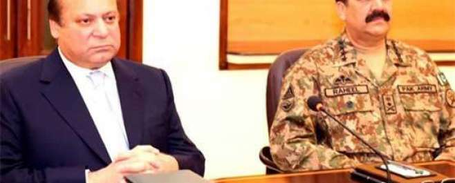 اسلام آباد:  وزیر اعظم نواز شریف کی زیر صدارت اعلیٰ سطح کا اجلاس