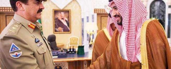سعودی وزیر دفاع کی آرمی چیف سے ملاقات، سعودی عرب کی سالمیت کو خطرہ ہوا ..