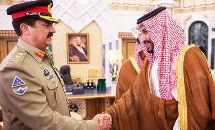 سعودی وزیر دفاع کی آرمی چیف سے ملاقات، سعودی ..
