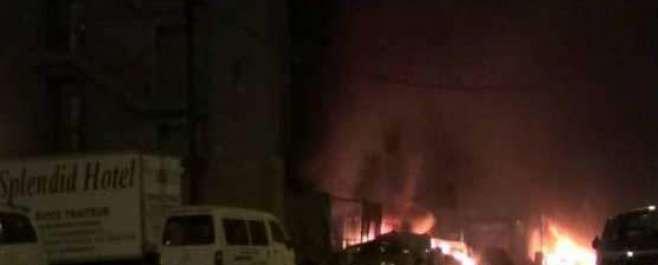 برکینافاسو کے دارالحکومت واگاڈوگو میں دہشتگردوں  کا ہوٹل پر حملہ، ..