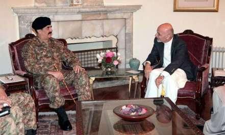 آرمی چیف کا تاجکستان سے واپسی پر کابل میں مختصر ..